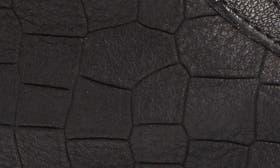 Black Croc Leather swatch image