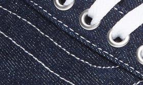 Dress Blues Denim/ Leather swatch image