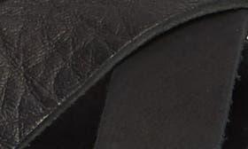 Black Volcano Leather swatch image