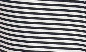 Black/ White Spring Stripe swatch image