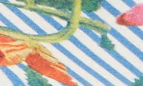 Stripe Floral Fabric swatch image