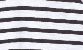 White- Black Stripe swatch image