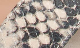 White Reptile Print swatch image