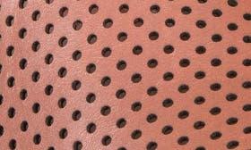 Orange Metallic Leather swatch image