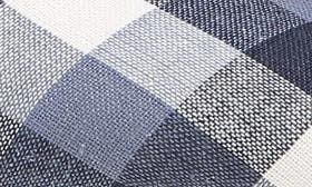 Navy Gingham Print Fabric swatch image