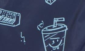 Navy Denim Doodle swatch image