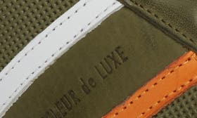 Military Green Leather swatch image