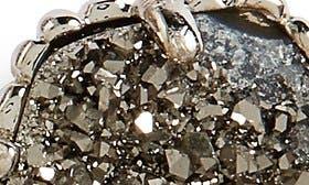 Rhodium/ Platinum Drusy swatch image selected