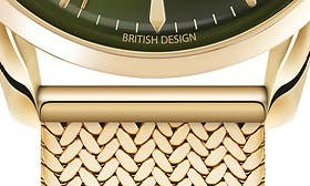 Gold/ Rich Green swatch image