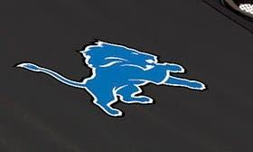 Black - Detroit Lions swatch image