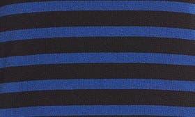 Black- Navy Stripe swatch image