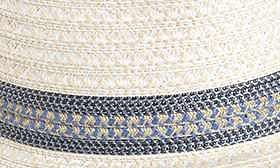 Cream/ Blue Tweed swatch image