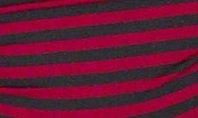 Black/ Merlot Even Stripe swatch image