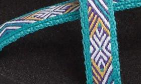 Isla Tropic Teal Fabric swatch image