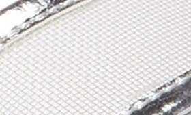 Silver Faux Leather swatch image