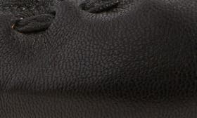 Black/ Goat Leather swatch image