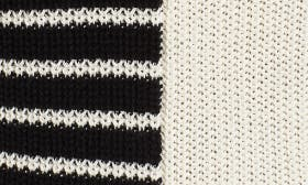 Black Linda Stripe swatch image
