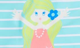 Seafoam/ Pink swatch image
