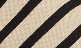New Natural/ Black Stripe swatch image