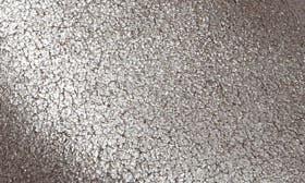 Platinum Metallic Suede swatch image