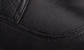 Black Burnished Nappa Leather swatch image