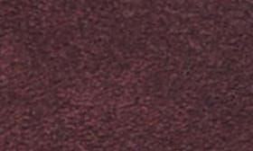 Burgundy Suede swatch image