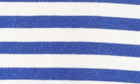 Blue Surf- White Stripe swatch image