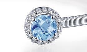 Silver/ December Blue Topaz swatch image