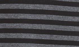 Heather Charcoal/ Black Stripe swatch image
