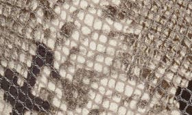 Natural Snake Print Leather swatch image