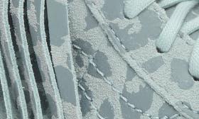 Harbor Gray Leopard Suede swatch image