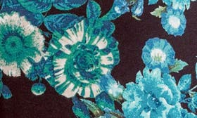 Blue/ Black Floral swatch image
