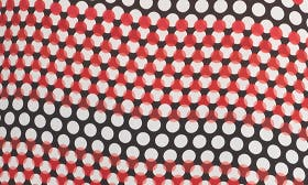 Black- Red Twisted Dots swatch image