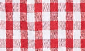 Red- White Gingham swatch image