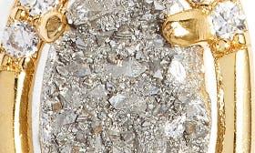 Grey Druzy/ Gold swatch image