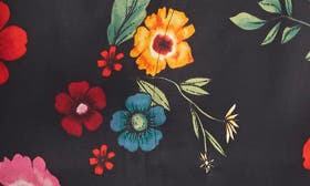 Black Multi Floral Toss swatch image