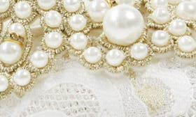 Ivory/ White Fabric swatch image