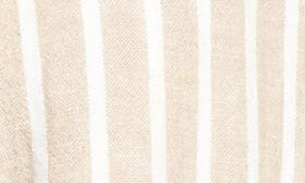 Tan Nomad Ella Linen Stripe swatch image