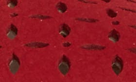 Red Nubuck swatch image