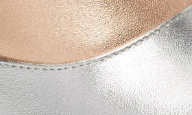 Silver/ Rose Gold Leather swatch image