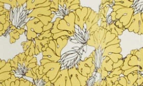 Yellow Floral swatch image