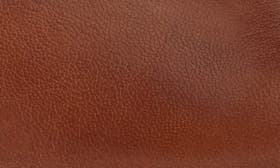 Cognac/ Cognac Leather swatch image