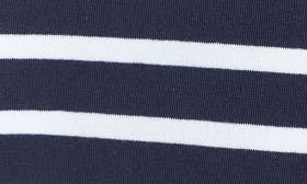Navy Skinny White Stripe swatch image