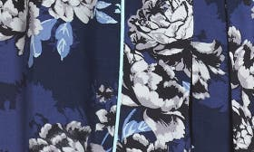 Navy Peacoat Cloud Floral swatch image