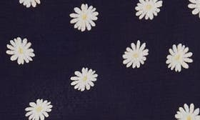 Navy Daisies swatch image