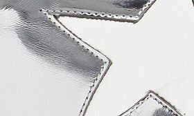 Silver Faux Patent swatch image