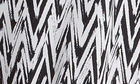 Black/ White Chevron swatch image