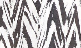 Black/ White Chevron swatch image