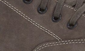 Grey Milled Nubuck Leather swatch image