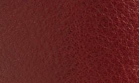 Russet Red Nubuck Leather swatch image